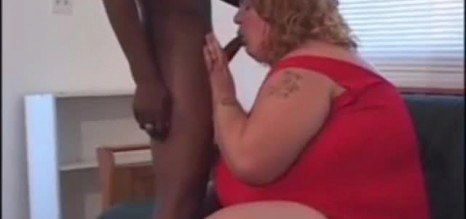 Fat White Chick Gets A BBC