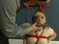 Submissive blonde blowjob